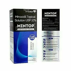 Dr. Reddy Mintop Solution for Hair Loss Regrowth Treatment for Men 60ml Freeship