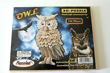 Puzzled 3D-Puzzle Wood Craft Construction Kit 146 pieces Owl