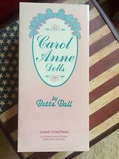 Carol Anne Dolls Bette Ball EASTER PARADE Limited Ed Musical GOEBEL Inc 1992