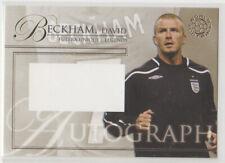 2007 Futera Unique-Legends David Beckham England no-auto card(back blank)