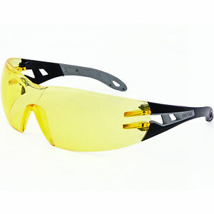 Amber Lens Safety Glasses UVEX PHEOS  XTR Decore SLX Acera Altus Tourney MTB