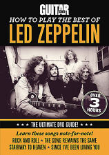 HOW TO PLAY THE BEST OF LED ZEPPELIN GUITAR WORLD DVD