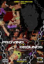 CZW Wrestling: Proving Grounds 2011 DVD, The Briscoe Bros ROH PWG DGUSA AR Fox
