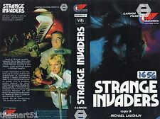 STRANGE INVADERS (1984) VHS MultiVision  Video 1a Ed. - Michael Laughlin