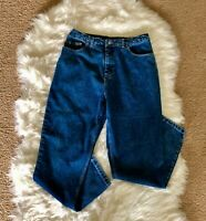 MEMBERS MARK Womens Size16 Straight Leg Jeans High Rise Med Wash
