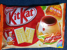 1 bag NEW Custard Pudding Easter KitKat / Kit Kat - Nestle Japan Chocolate Gift