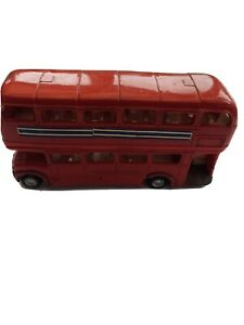 Triang Mimic Double Decker red Bus