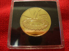 24 CARAT GOLD PLATED COMPLETER MEDALLION 2012 OLYMPICS COIN SPORTS COLLECTION. .