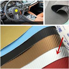 1 Blatt 120*50CM Kohlefaser Leder Auto Einstiegsschwelle/Schwellenwert Abdeckung