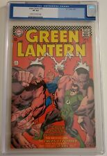 GREEN LANTERN  51  CGC 8.0 - 0057257012 - Gil Kane cover and art!