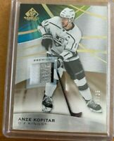 2019-20 UD SP GAME USED ANZE KOPITAR 3 CLR  PATCH  20 OF 25 LA KINGS!