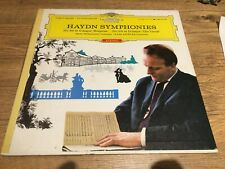 Haydn Symphonies DGG Tulip RED Stereo No. 94 Surprise And No. 101 The Clock NM