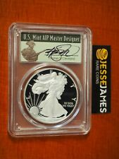 2019 W PROOF SILVER EAGLE PCGS PR70 DCAM CLEVELAND FIRST DAY ISSUE FDI POP 100