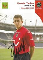 Chavdar Yankov - Hannover 96 - Saison 2005/2006 - Autogrammkarte