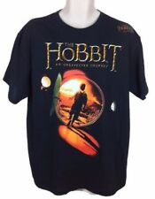 The Hobbit: An Unexpected Journey - Hobbit Hole Size Large T-Shirt Black Bilbo