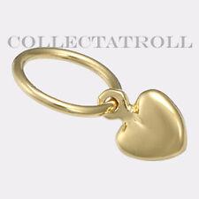 Authentic TrollBead 18kt Gold Mini Heart Trollbeads 21820