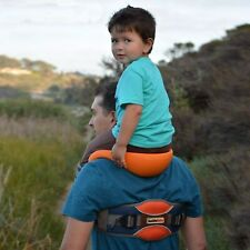 Hands-Free Shoulder Carrier With Ankle Straps & Cushioned Hip Seat Nylon Child
