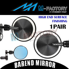 Silver 2017 CNC Folding Bar End Mirrors Fit KTM Motorcycles