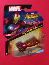Hot Wheels IRON MAN MARK 50 Marvel AVENGERS INFINITY WAR CHARACTER CARS FLG51