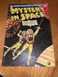 Mystery In Space # 16 Comic book 1953