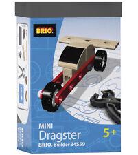 BRIO BUILDER MINI DRAGSTER 34559 19 PIECES BRAND NEW