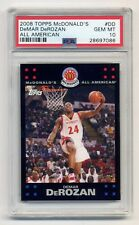 2008 Topps McDonald's All-American  DeMar DeRozan  PSA 10  High School McDonalds