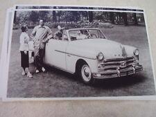 1950 DODGE WAYFARER CONVERTIBLE  11 X 17  PHOTO  PICTURE
