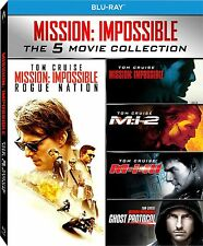 Mission Impossible -5 Movie Collection (5 Blu-Ray)- ITALIANO ORIGINALE SIGILLATO
