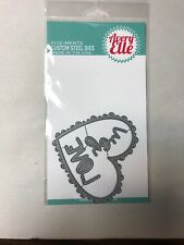 New listing Avery Elle ~ Embellished Heart Die Set ~ New In Package