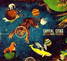 In A Tidal Wave Of Mystery - Capital Cities - CD Album Damaged Case