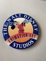 The Walt Disney Studios Animation Art Button Mickey the Socerer's Apprentice