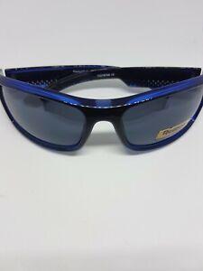 Reebok Classic 2 Golf Sunglasses, blue/indigo Frame blue  Mirror Lens RRP £44.99