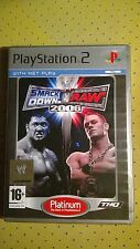 Juego Sony PlayStation 2 PS2 WWE Smack Down vs Raw 2006 Platinum THQ PAL