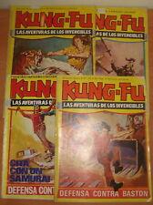 Lote de 4 comics KUNG-FU. Editorial Amaika. Año 1979.