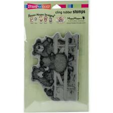 Stampendous House Mouse Designs Cling Rubber Stamp - PICNIC BEARS