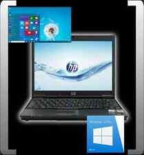 HP ELITEBOOK 2510p 12,1 ZOLL INTEL DUALCORE 1,20GHZ 2GB RAM 120GB HDD DVD WIN10