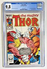Thor #338 CGC 9.8 NM/M white 1983 Marvel comic Beta Ray Bill