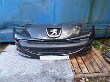 PEUGEOT 207 SPORT 2006-2009 BLACK FRONT BUMPER