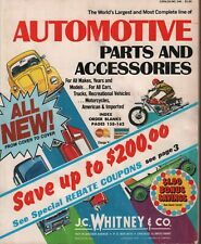 JC Whitney Automotive Parts & Accessories Catalog lot of 8 1970's 050319DBT2