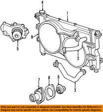 CHRYSLER OEM-Engine Water Pump 4694307AF