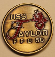 USS Taylor (FFG-50) Navy Challenge Coin