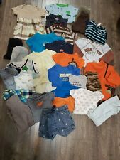 Baby Boy Lot Clothes 9 Months 32 pieces Carters and more