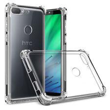 For HTC U12 U11 Life Plus U Play Slim Shockproof Soft Clear Hybrid Case Cover