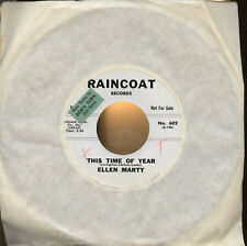 "ELLEN MARTY This Time of Year / Billy Back 1964 scarce teen beat R&B 7"" promo"