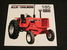 ALLIS CHALMERS 185 Bumper Sticker/Decal