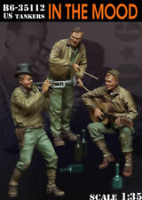 1/35 Scale resin kit WW2 US Tankers ' In the Mood '