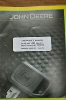 JOHN DEERE OPERATOR'S MANUAL D120 AND H120 LOADERS OMW54640 ISSUE J0