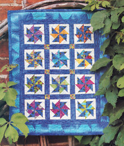 Windy Days Miniature Quilt Pattern from a Magazine