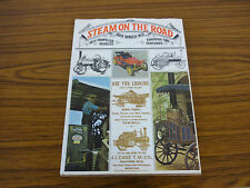 1974 Hardback: Steam on the Road by David Wise: Steam Tractors, Cars & Engines