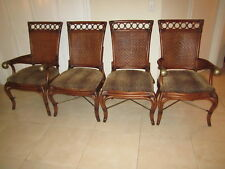 Tommy Bahama Style Dining Chairs 2 Side And 2 Arm chairs Shipping not Included